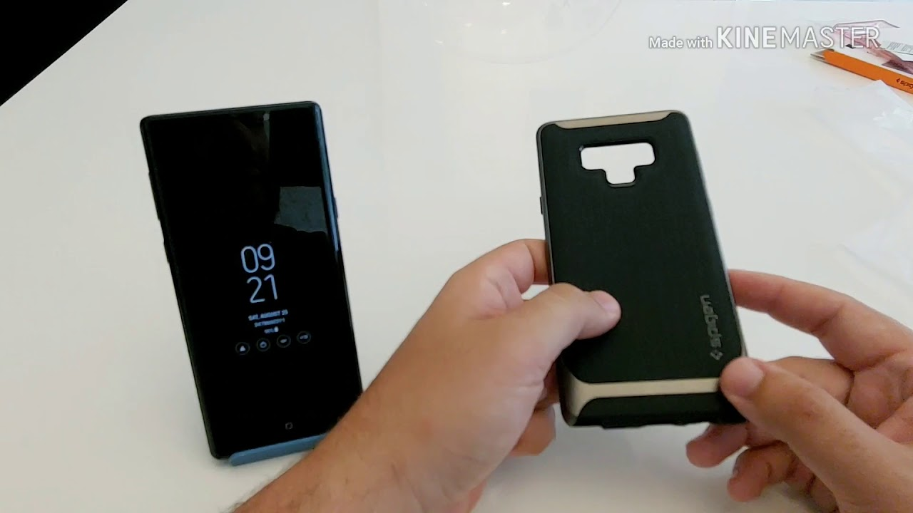 half off d8e33 a92bf Spigen Neo Hybrid Case For Note 9