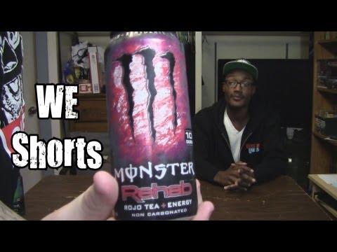 WE Shorts - Monster Rehab Rojo Tea + Energy