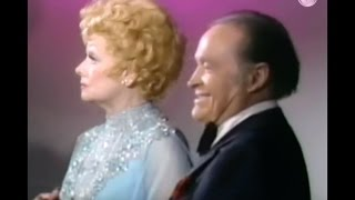 Lucille Ball Bloopers - 1981 (w Bob Hope)