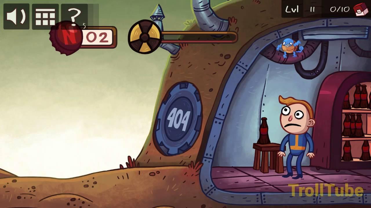 Troll Face Quest Video Games Level 11 Walkthrough - YouTube