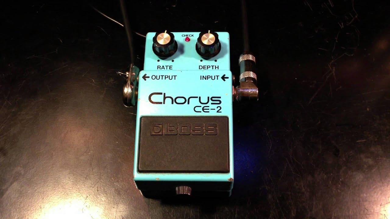 how to make a chorus pedal