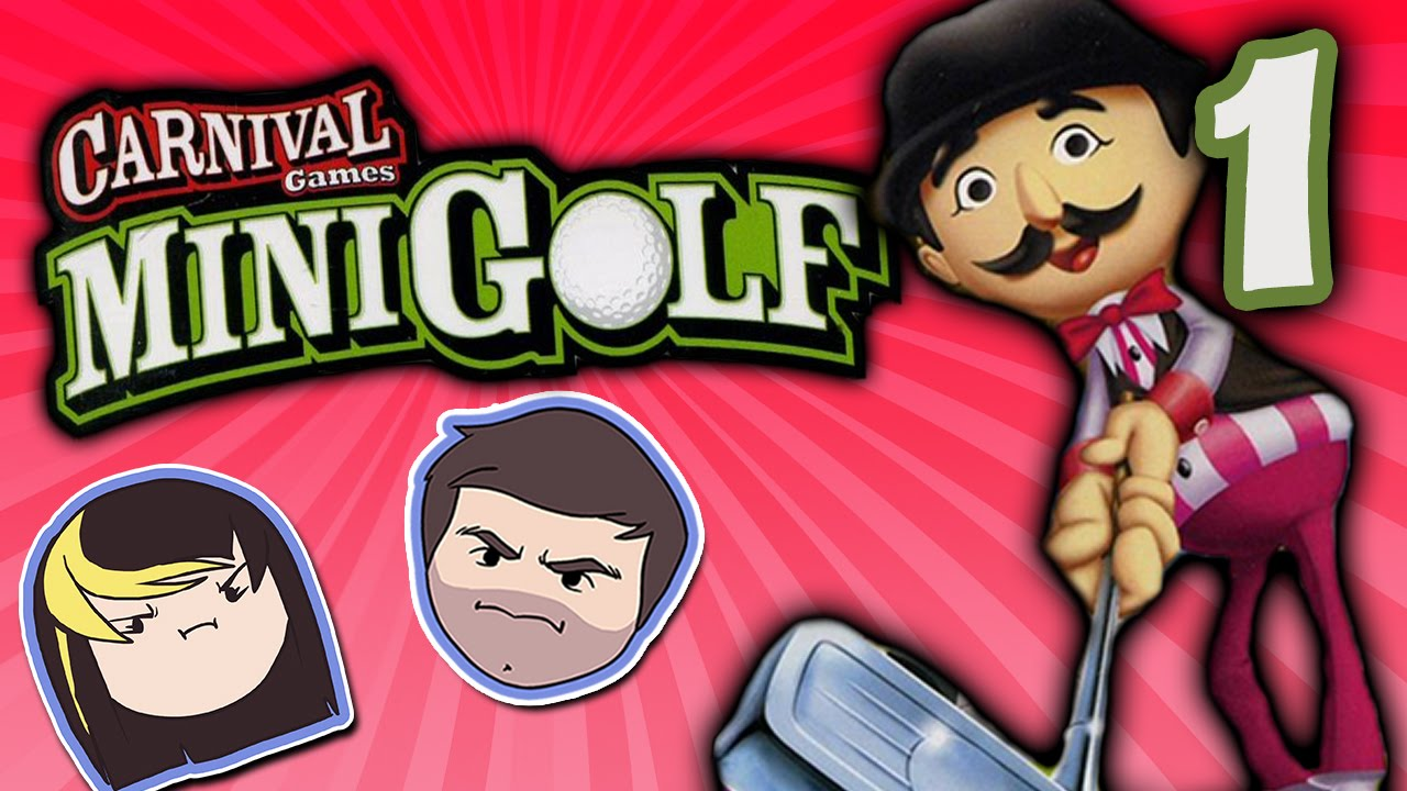 Carnival Games Mini Golf Dino Power Part 1 Grumpcade Youtube