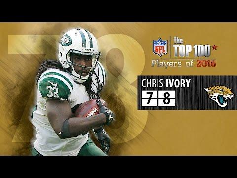 #78: Chris Ivory (RB, Jaguars) | Top 100 NFL Players of 2016