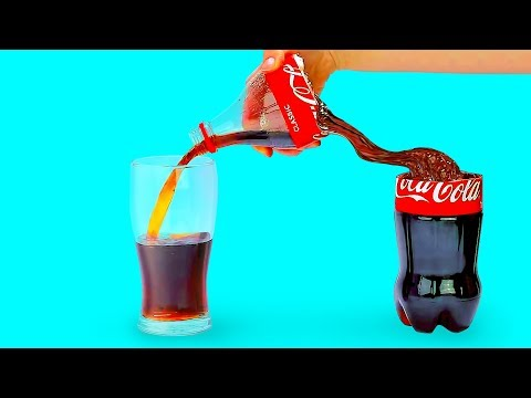 20 COOL LIFE HACKS WITH COCA-COLA