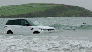 2018 Range Rover Sport PHEV Swimming Challenge