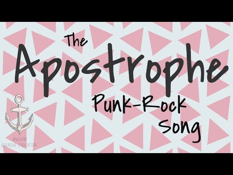 The Apostrophe Punk-Rock Song