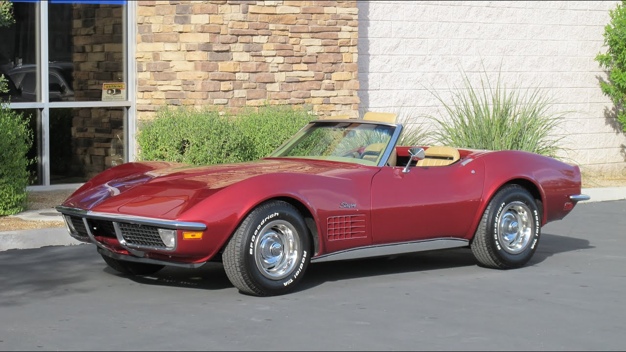 Corvette Stingray Top Speed >> 1970 Chevrolet Corvette Stingray - YouTube
