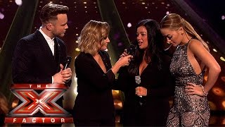 We say goodbye to Lauren as she misses out on the Final | Semi-Final Results | The X Factor 2015