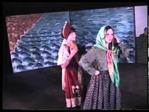 Репетиция спектакля по Сказкам Пушкина (1999 год)