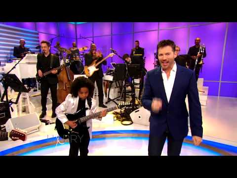 9-year-old guitar player Marel Hidalgo on Harry Show