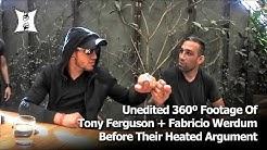 Unedited 360º Footage Of Tony Ferguson + Fabricio Werdum Before Argument At UFC 216 Media Lunch