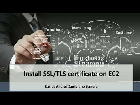 Install SSL/TLS Certificate in EC2 on AWS with Certificate Manager