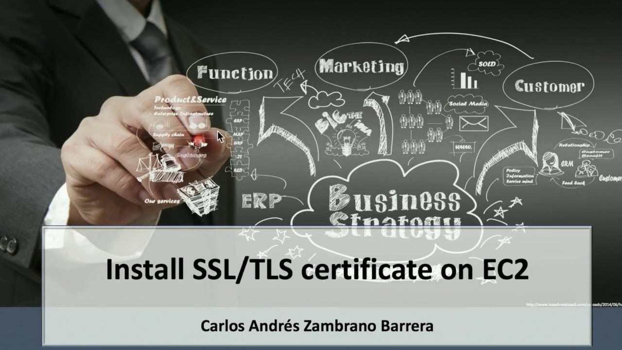 Install Ssltls Certificate In Ec2 On Aws With Certificate Manager