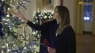 News   Đệ nhất phu nhân Tổng thống Mỹ Melania Trump trang hoàng Lễ Giáng Sinh tại Nhà Trắng 2018