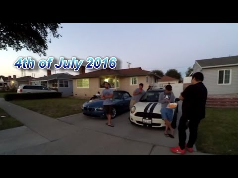 4th of July 2016 BBQ in Lakewood, California