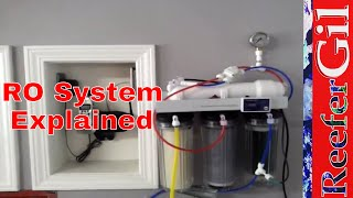 Ro Water System Setup: Laundryroom