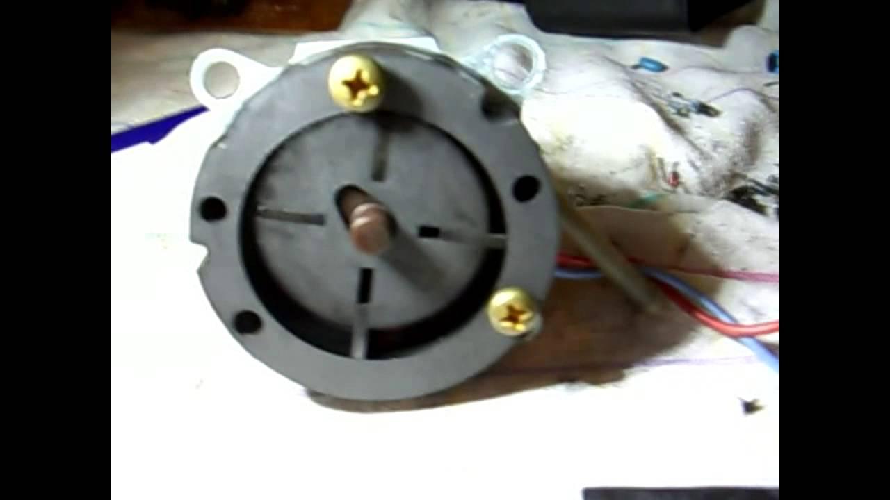 Rotary Vane Air Pump Wrecked By Too Much Rain Youtube