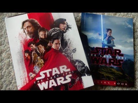 Star Wars: THE LAST JEDI - TARGET EXCLUSIVE Digipak Blu Ray Unboxing