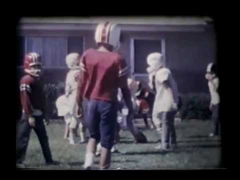 Classic Front Yard Football 1967 - Graham Steers in-the-making http://youtu.be/YxjHUcBaPoo