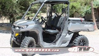 ATV Television Product Review – QBT446 Tires on Can Am Defender