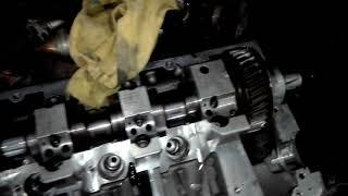 VW T5 2.5tdi axd,axe,bnz,bpc, head fix repair injector seat fuel in oil