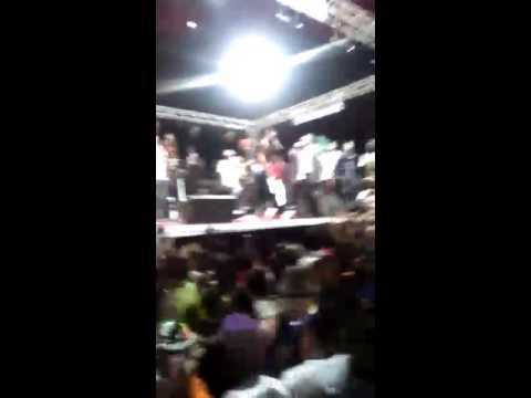 WizKid live performance in Freetown, Sierra Leone 2016