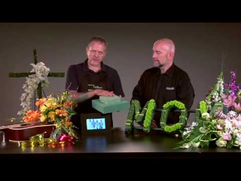 Personalizing Sympathy Floral Designs Youtube