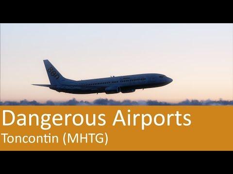 [FSX] Dangerous Airports - Toncontin MHTG (german)
