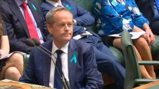 Malcolm Turnbull Rips BIll Shorten Apart