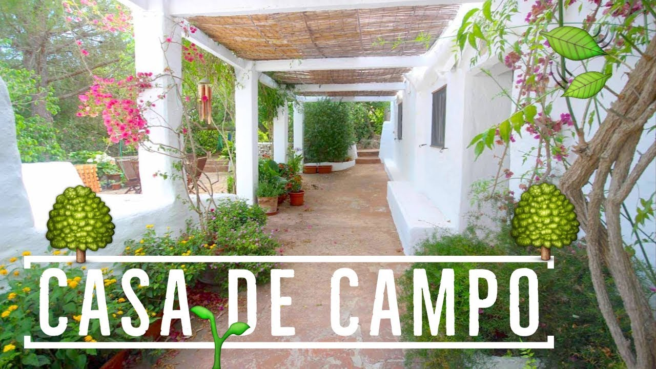 Casa de campo en country house in alayor youtube for Fotos de casas de campo rusticas