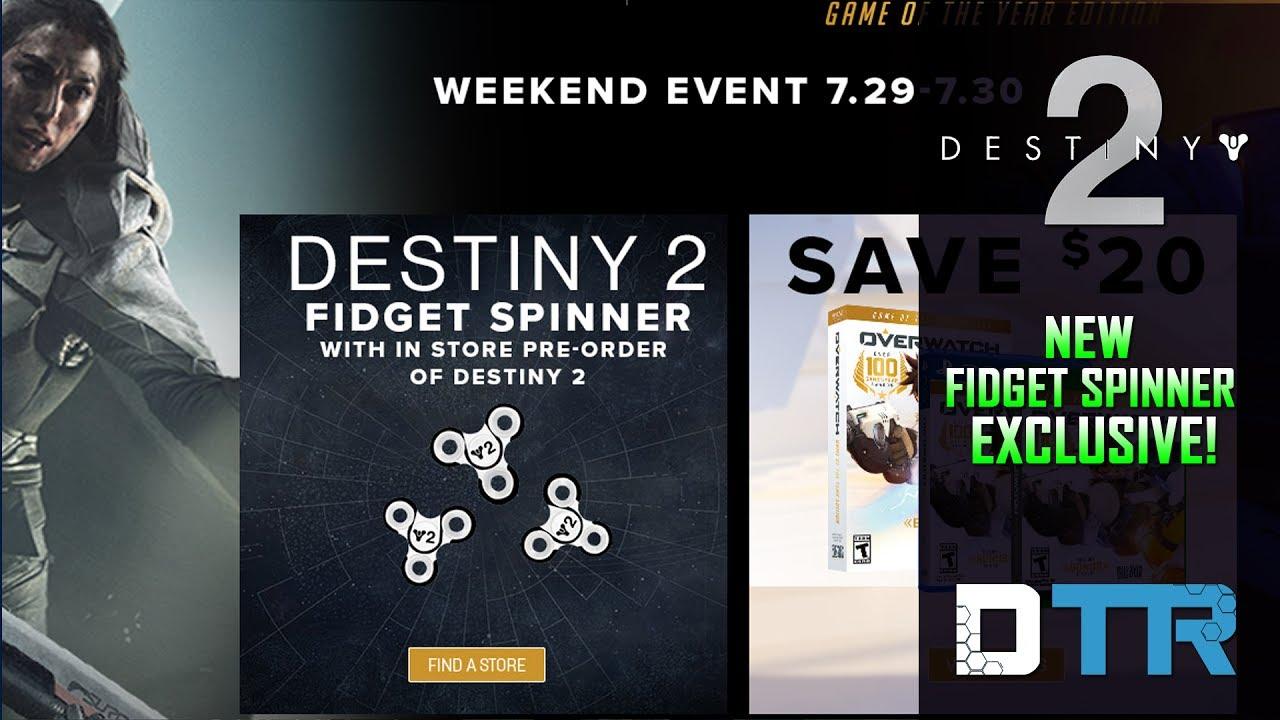 9465e8ef496 Destiny 2  Fidget Spinner ! Pre Order Bonus! - YouTube