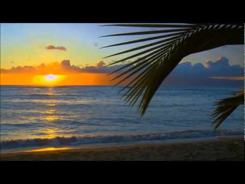 """Summer Sunset"" Relaxing Romantic Love Instrumental Piano Theme Patrick Stafford Piano,Barbados HD"