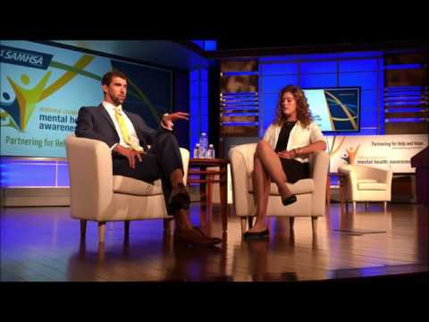 Olympians Michael Phelps and Allison Schmitt - thoughts on depression and mental health