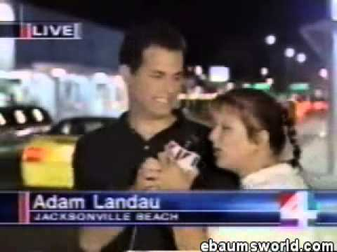 News Reporter Attacked by Drunk Woman