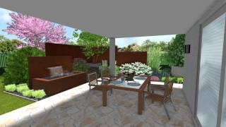 Jardin Naturel - L'acier corten un matériau tendance pour votre jardin