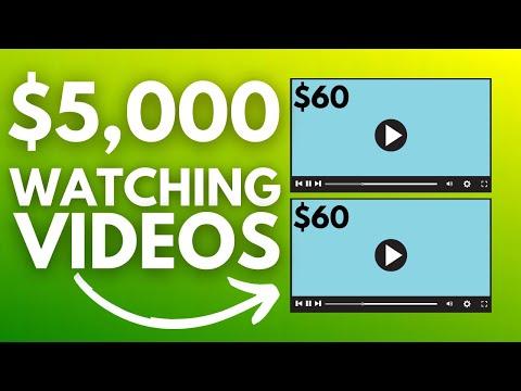 Make Money Watching Videos For FREE ($5,000)   Make Money Online 2021