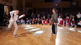 Magda Ziętek vs Lil Fuli | Top4 Hip Hop | Czorne Densy 2019