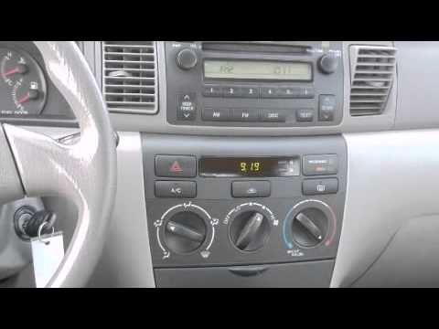 2007 Toyota Corolla Ce 1 8l I4 Dual Front Airbags Youtube