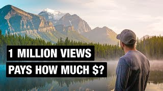 How much do Youtubers make for 1 Million Views?