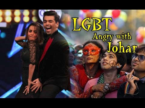 Why LGBT Community got angry with Karan Johar ?