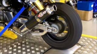 Monkey bike dyno test 100 MPH +! @ OORacing
