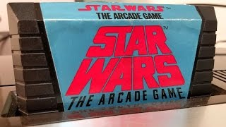 Classic Game Room - STAR WARS: THE ARCADE GAME review for Atari 5200