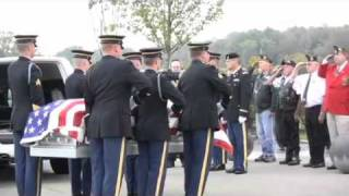 Col. Jack Harris welcomed home with full military honors