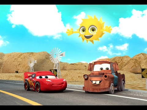 🚗 ABC Alphabet song with Lightning McQueen from CARS |  Kids Education Songs