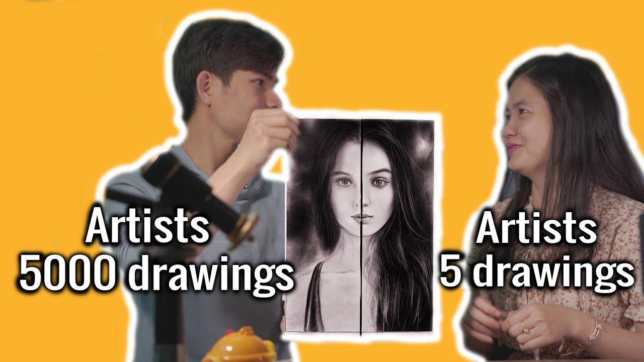 Drawing Test -  DP Art vs New Artists