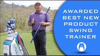 #1 PGA AWARDED Best NEW golf swing training aid.