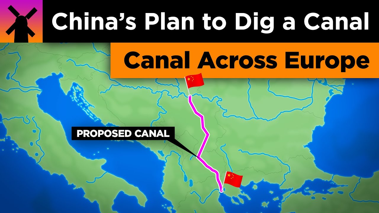 Thessaloniki China's Insane Plan to Dig a Canal Across the Balkans - YouTube