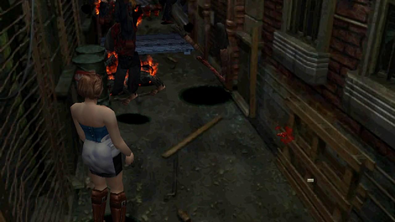 Repeat Resident Evil 3: Nemesis - PCSXR-PGXP/Pete'sOGL2 xBRZ TWEAK
