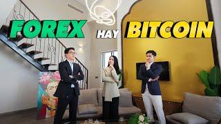"""TALKSHOW   Trong Thời Điểm Dịch Bệnh, Đầu Tư Gì """"NHIỀU LÃI, ÍT RỦI RO""""? Nên Chọn Forex Hay Bitcoin?"""