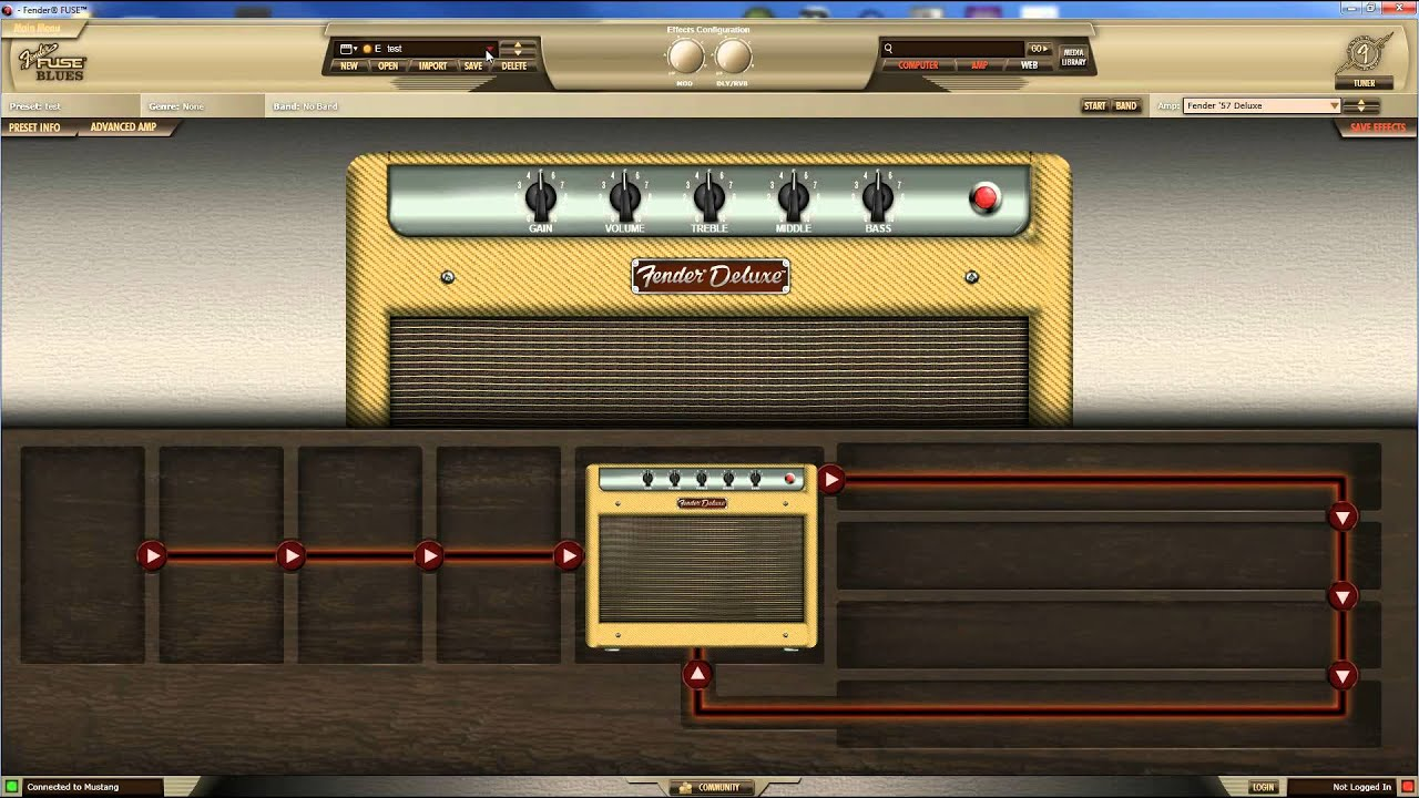 Loading Presets to a Fender Mustang Amp